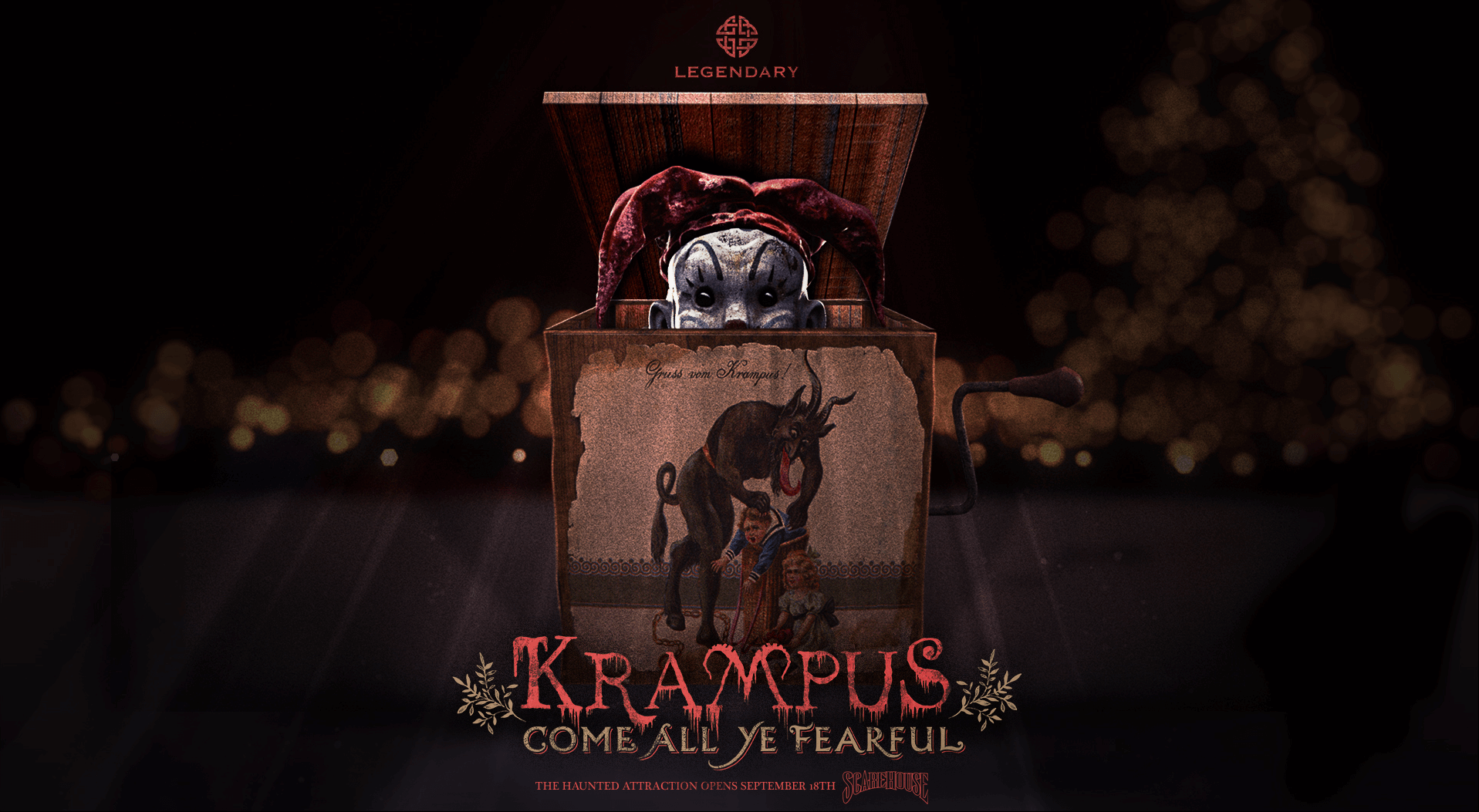 ScareHouse to debut new Trick r Treat, Krampus haunted attractions ...