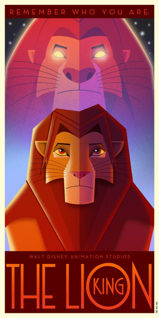 PHOTOS Disney Art Deco posters