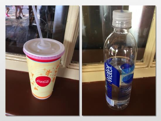 Ice Water vs. Bottled Water
