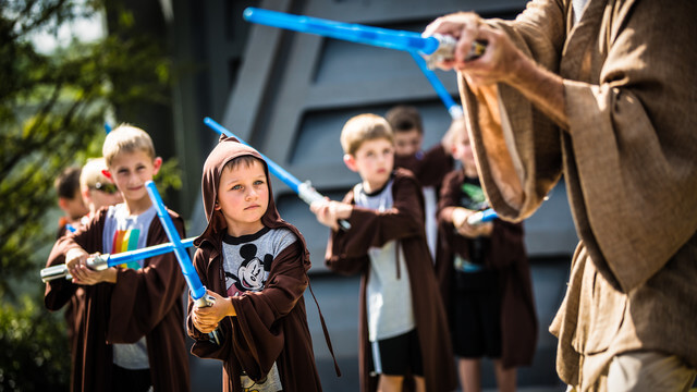 Jedi Training Show