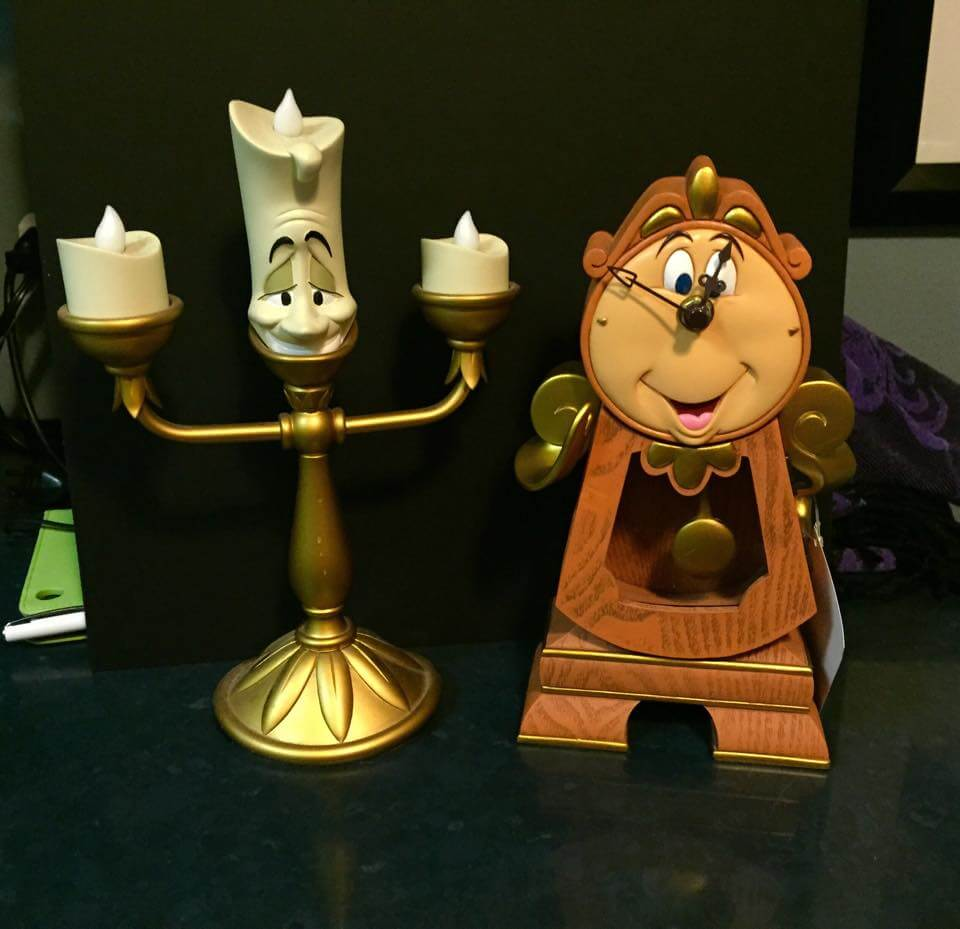New Beauty And The Beast Cogsworth Figure Arrives At
