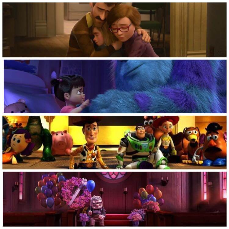 Best Pixar Moments