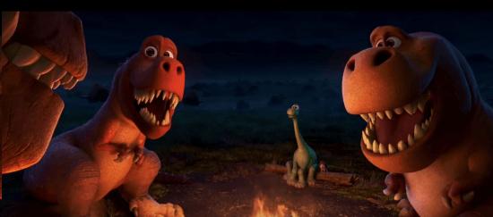 Campfire T-Rexs Good Dinosaur