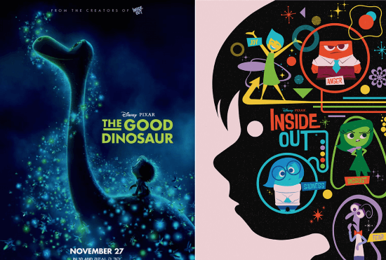 Good Dinosaur and Inside Out