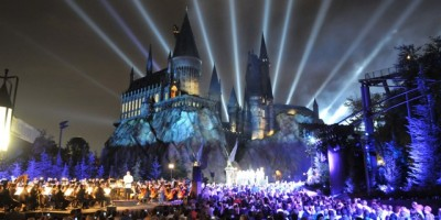 Hogwarts at Night LR