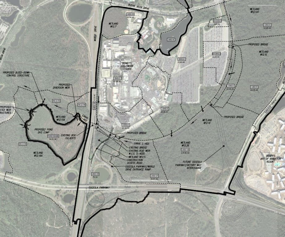 Star Wars Land, Toy Story Land permit maps reveal scope of ...