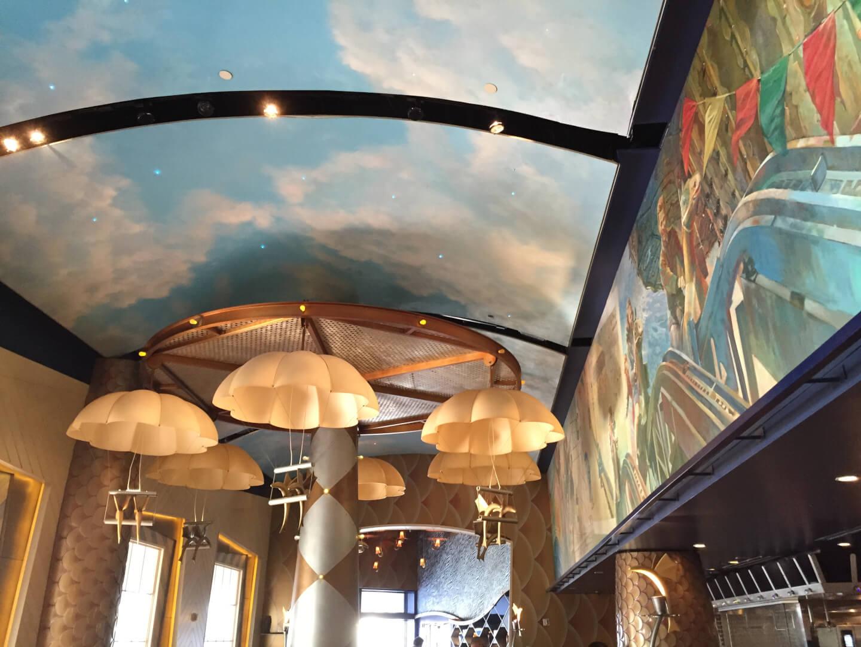 Flying fish caf at disney 39 s boardwalk gets reimagined for Flying fish restaurant disney