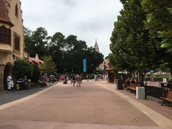 World Showcase at Noon