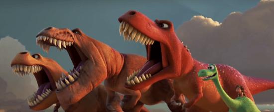 TRex and Arlo 2 Good Dinosaur