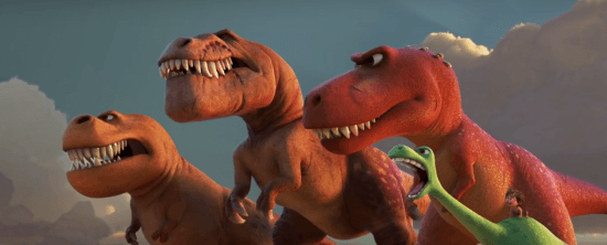 TRex and Arlo 3 Good Dinosaur
