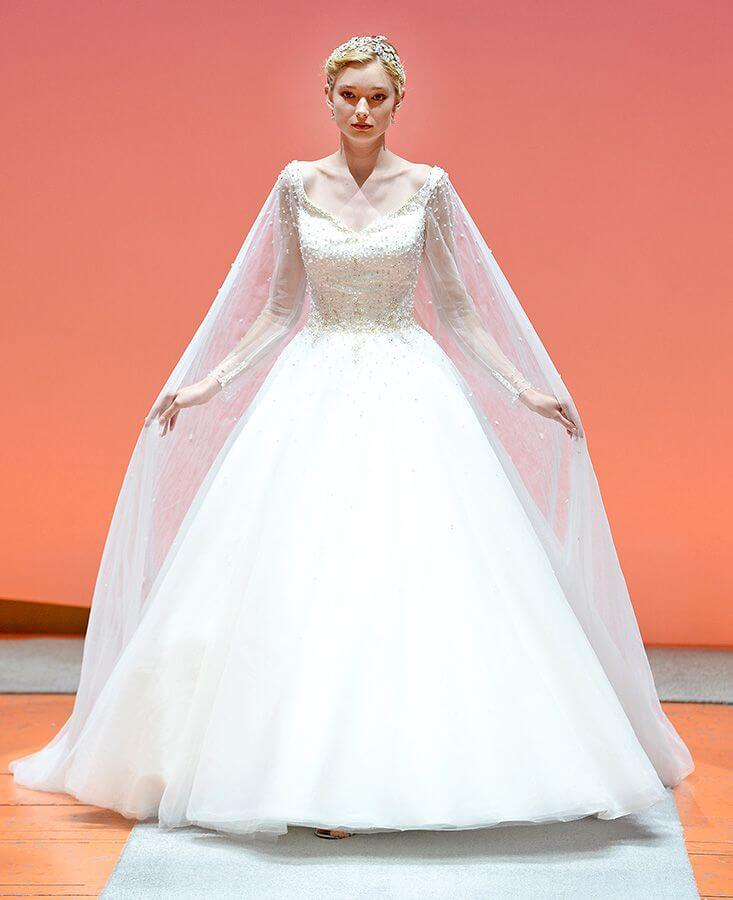 Wedding Gowns In Nyc: Alfred Angelo Showcases 2016 Disney's Fairy Tale Weddings