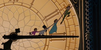 peter-pan-1953-peter-pan-wendy-michael-john-big-ben-you-can-fly-600x300