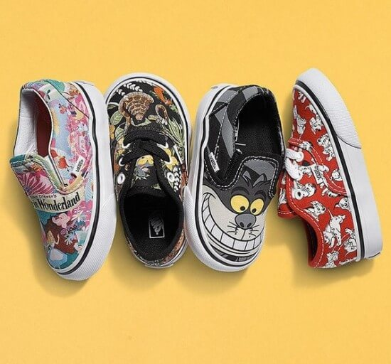 disney vans shoes sneakers