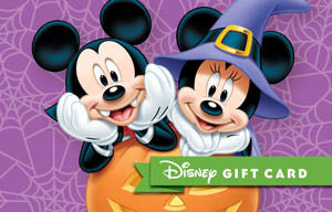 Disney Parks introduces new Halloween themed gift cards | Inside ...