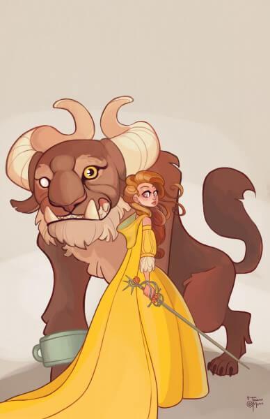 Belle Warrior Princess & the Beast