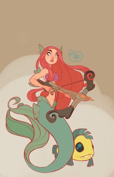 Ariel Warrior Princess