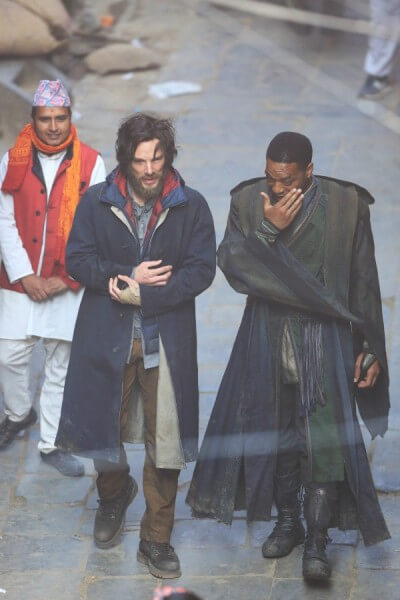 Dr. Strange and Baron Mordo