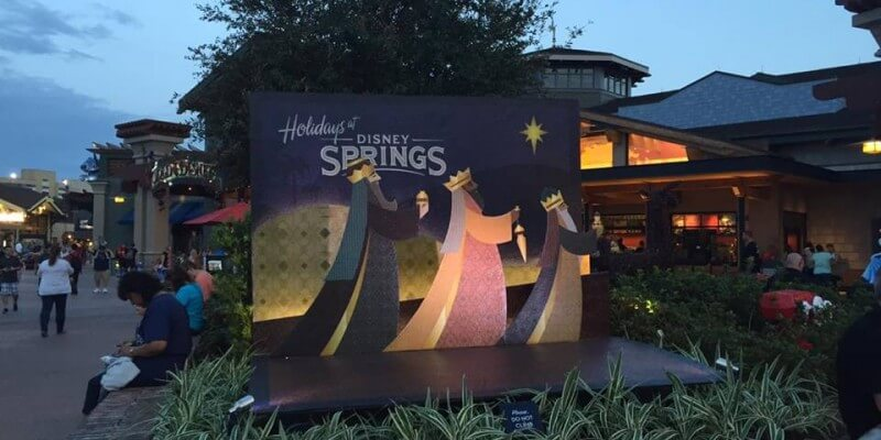 PHOTOS: Christmas has sprung at Disney Springs in Walt Disney ...