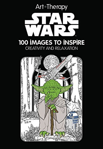 star wars art therapy colouring book - Star Wars Coloring Books