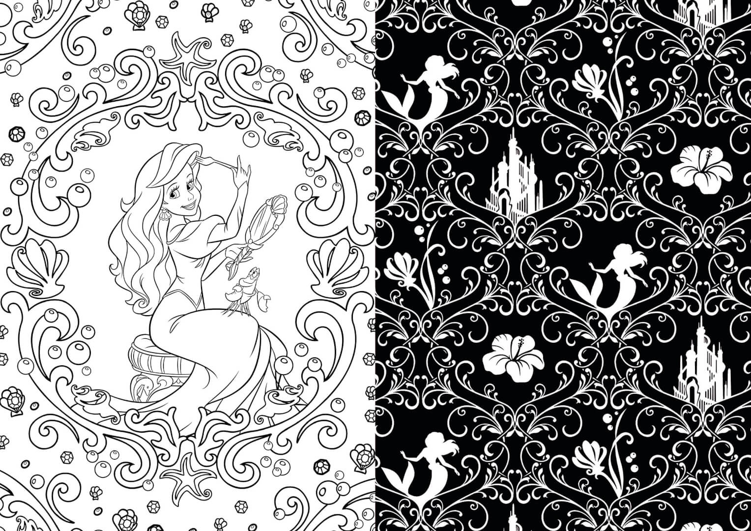 Enjoy Some Art Therapy With Disney Coloring Books For Adults