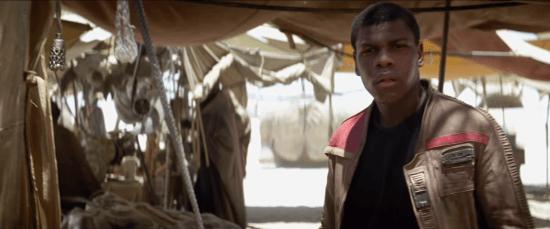 Finn Force Awakens trailer
