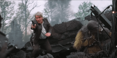 Han Solo Chewbacca Force Awakens