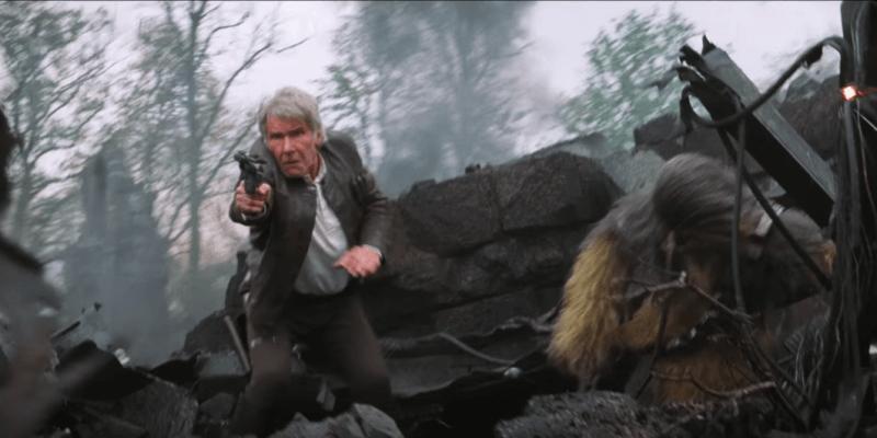Han Solo Chewbacca Force Awakens