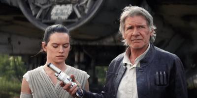 Han Solo blaster Force Awakens