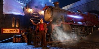 Hogwarts Express Conductor - WWoHP at USH
