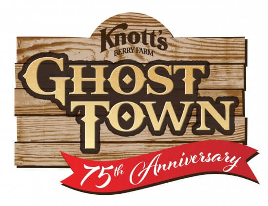 Knott's Ghost Town 75th Logo