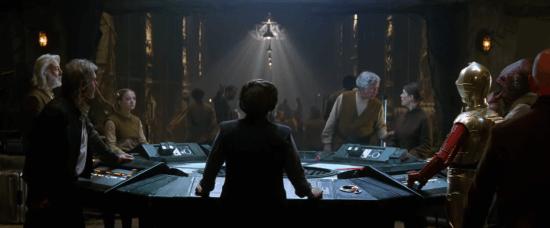 Leia Han Solo C-3PO