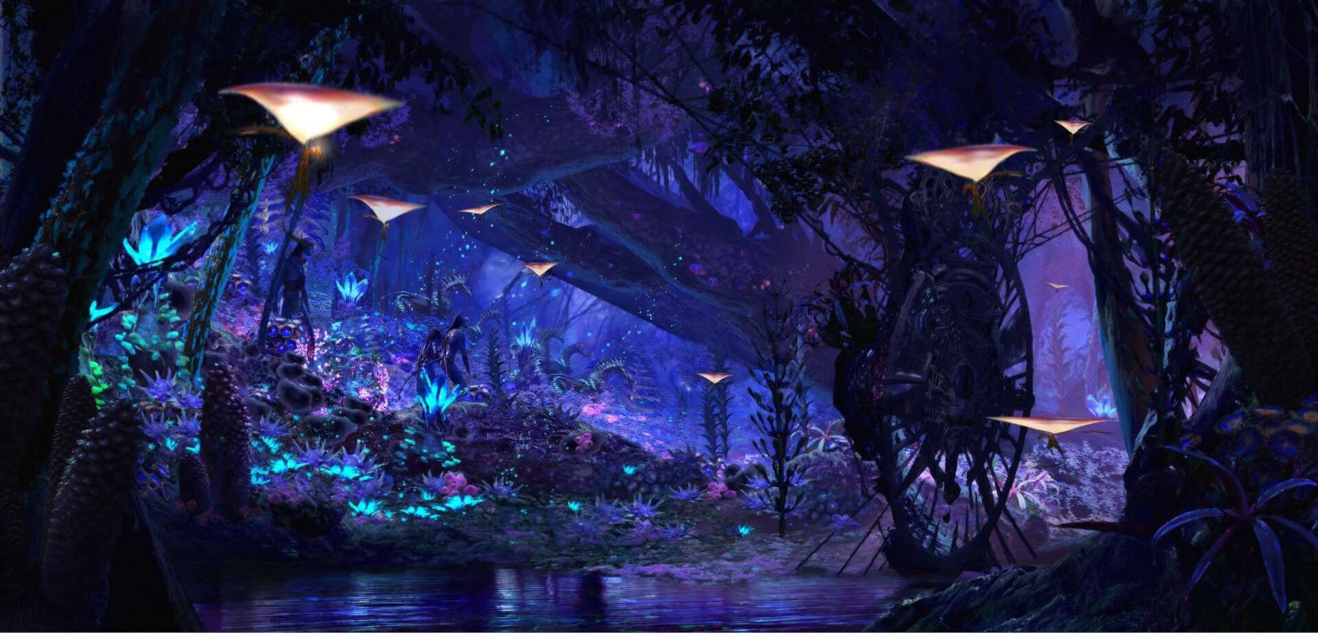 Avatar Movie Pandora Disney releases new de...