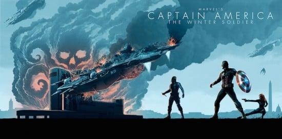 captain america phase 2 art
