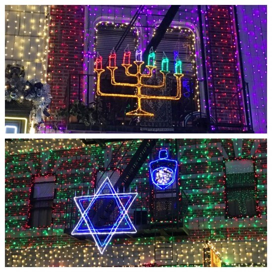 Hanukkah Displays