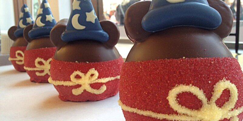 Disney candy apple