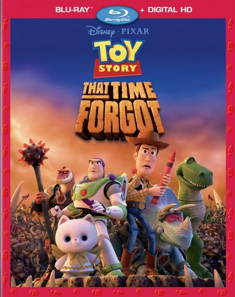 toy story that time forgot blu ray cover