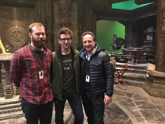 Doctor Strange Set Photo 3