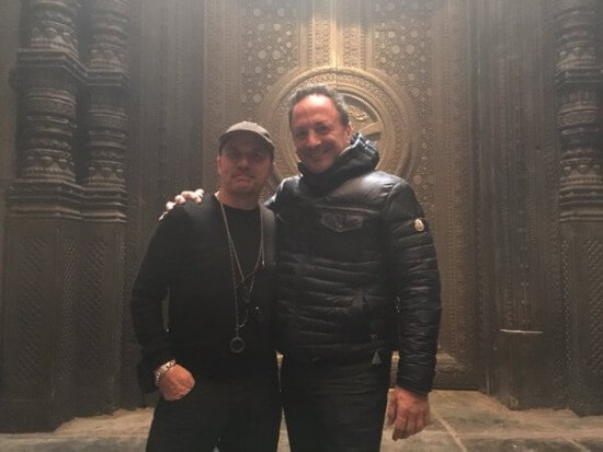 Doctor Strange Set Photo 4