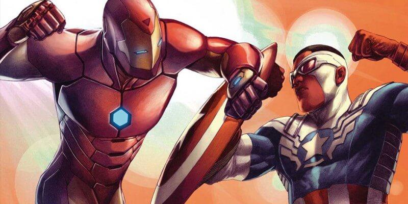 Marvel Civil War II artwork