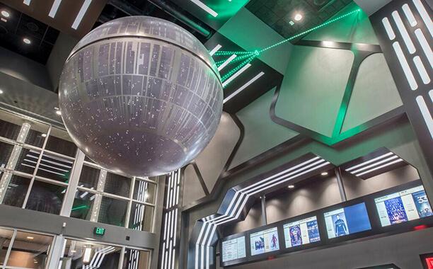 Star Wars Movie Theater