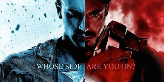 Captain America 3 Civil war Poster