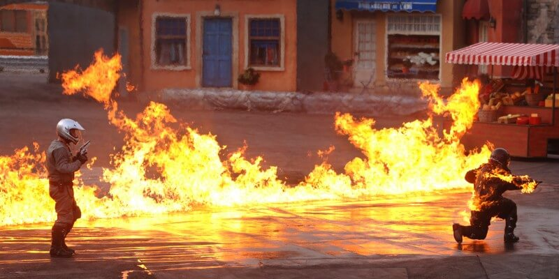 Lights, Motors, Action! Extreme Stunt Show Disney's Hollywood Studios