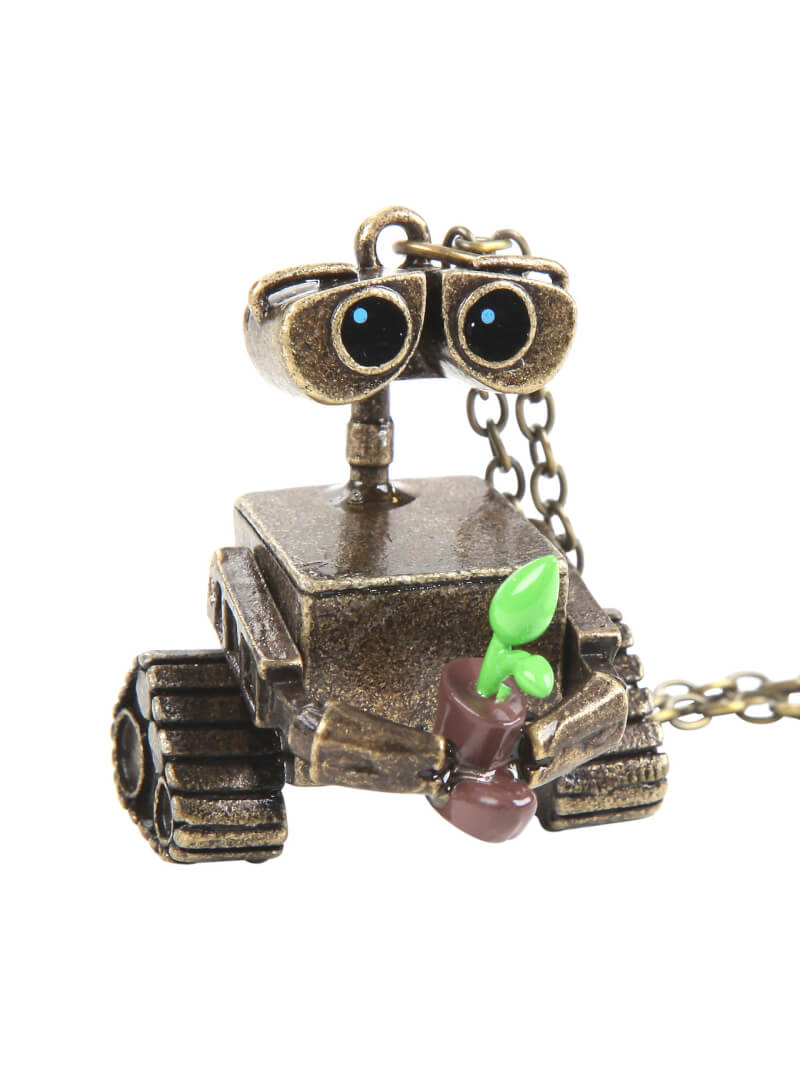 New Disney Wall E Character Necklace From Hot Topic