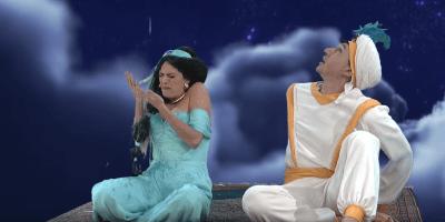 Aladdin and Jasmine SNL