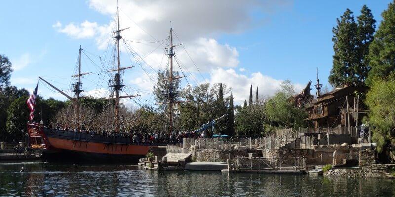 Sailing Ship Columbia Disneyland
