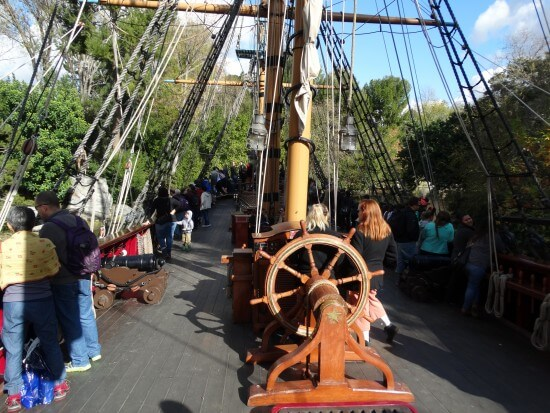 Sailing Ship Columbia Disneyland
