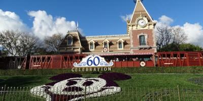 Disneyland Train Station Mickey