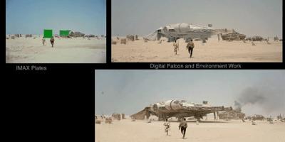 Star Wars Force Awakens VFX