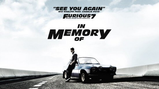 Furious 7 See You Again