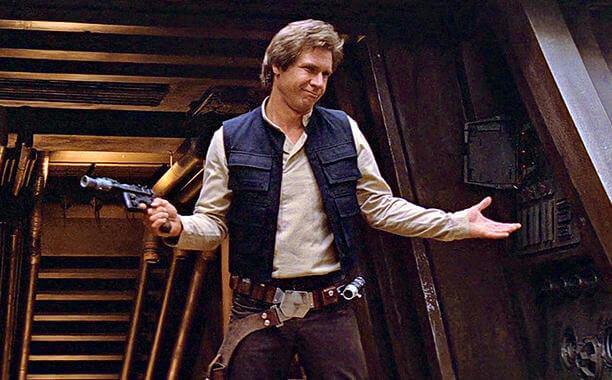 Han Solo Return of the Jedi
